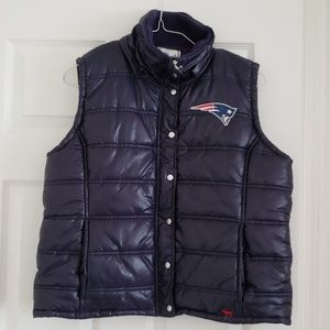 New England Patriots Puffer Vest by VS Pink